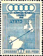[Airmail - Olympic Games - London, England, type JL]