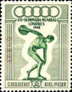 [Airmail - Olympic Games - London, England, type JN]