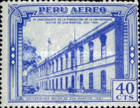[Airmail - The 400th Anniversary of San Marcos University, Typ KJ]
