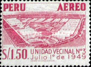 [Airmail - Personalities,  Nature and Culture of Peru, Typ LB]