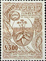 [Airmail - Personalities,  Nature and Culture of Peru, Typ LD]