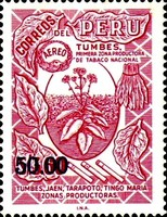 [Airmail - Various Stamps Surcharged, Typ LD9]