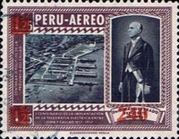 """[Various Stamps Overprinted """"Habilitado Franq. Postal"""" and Surcharged, Typ LZ2]"""