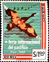 [Airmail - International Pacific Fair, Lima, type ML]