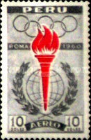 [Airmail - Olympic Games - Rome 1960, Italy, type MT1]