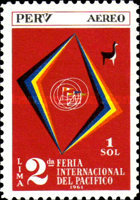 [Airmail - The 2nd International Pacific Fair, Lima, type MV]