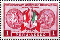 [Airmail - Peruvian Art Treasures Exhibition, Mexico 1960, type MX]