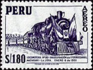 [Airmail - Personalities, Nature and Culture of Peru, type ND]