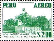 [Airmail - Personalities, Nature and Culture of Peru, type NE]