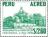 [Airmail - Personalities, Nature and Culture of Peru, type NE1]