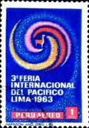 [Airmail - The 3rd International Pacific Fair, Lima, type NP]