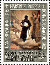 [Airmail - Christmas - Issue of 1965 Overprinted