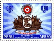 [Airmail - The 100th Anniversary of Civil Guard, type OE]