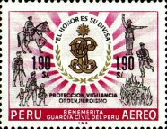 [Airmail - The 100th Anniversary of Civil Guard, type OF]