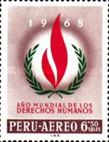 [Airmail - Human Rights Year, type PC]