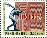 [Airmail - Olympic Games - Mexico City, Mexico, type PD1]