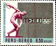 [Airmail - Olympic Games - Mexico City, Mexico, type PD3]