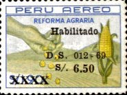 [Unissued Agrarian Reform Stamps, Surcharged, Typ PG1]