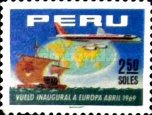 [The 1st A.P.S.A., Peruvian Airlines, Flight to Europe, Typ PL]