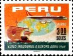 [The 1st A.P.S.A., Peruvian Airlines, Flight to Europe, Typ PL1]