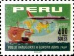[The 1st A.P.S.A., Peruvian Airlines, Flight to Europe, Typ PL2]