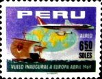 [The 1st A.P.S.A., Peruvian Airlines, Flight to Europe, Typ PL4]