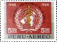 [Airmail - The 20th Anniversary of W.H.O., Typ PO]