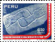"[Airmail - ""Gratitude for World Help in Earthquake of May 1970"", Typ RF2]"
