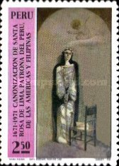 [The 300th Anniversary of Canonization of St. Rosa de Lima, Typ RG]