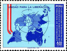[Airmail - Conference of Non-aligned Countries' Foreign Ministers, Lima, type YN]