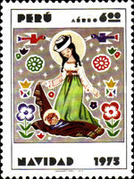 [Airmail - Christmas 1975, type YW]