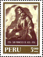 [The 750th Anniversary of the Death of Saint Francis of Assisi, 1181-1226, type ZE]