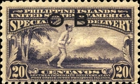 [Special Delivery Stamp of 1919 Overprinted