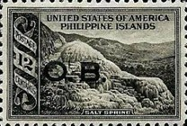 [Local Motifs - Philliphines Postage Stamps of 1935 Overprinted