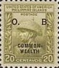 [Philippines Postage Stamps of 1938 Overprinted