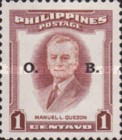 [Personalities - Postage Stamps of 1952 Overprinted