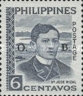 [Jose Rizal - Postage Stamp of 1959 Overprinted