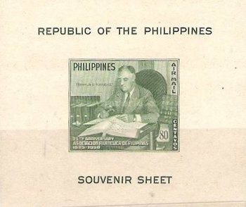 [The 25th Anniversary of the Philatelic Association, Typ ]