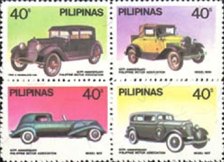 [The 50th Anniversary of Philippine Motor Association, Typ ]