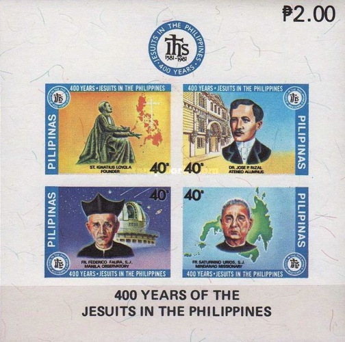 [The 400th Anniversary of Jesuits in the Philippines, Typ ]