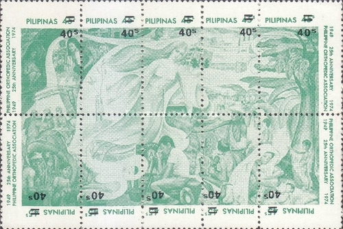 [Issues of 1975 Surcharged 40s, Typ ]