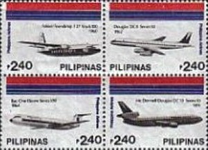 [The 45th Anniversary of Philippine Airlines, Typ ]