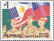 [The 50th Anniversary of Induction of Philippine Reservists into United States Army Forces in the Far East, Typ ]
