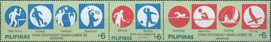 [The 17th Southeast Asian Games - Singapore, Typ ]