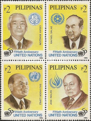 [The 50th Anniversary of the United Nations, Typ ]