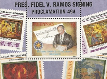 [National Stamp Collecting Month, Typ ]