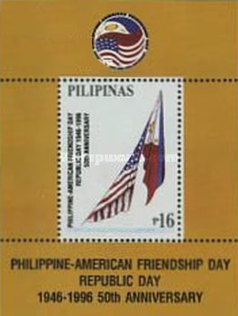 [The 50th Anniversary of Republic Day - Philippine-American Friendship Day, Typ ]