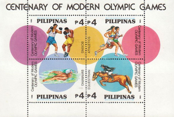 [The 100th Anniversary of Modern Olympic Games, Typ ]