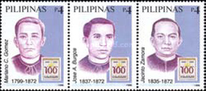 [The 100th Anniversary of Declaration of Philippine Independence - Exceution of Secularist Priests, 1872, Typ ]