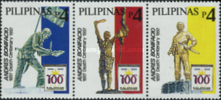[The 100th Anniversary of Declaration of Philippine Independence - Statues of Andres Bonifacio, Typ ]